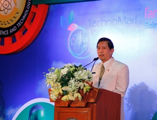 Dr. Plodprasob Suraswadi, Minister of Science and Technology