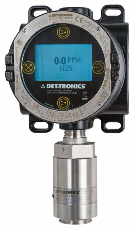 The ultra-fast NTMOS H2S gas detector (shown here with the FlexVu(R) Universal Display) has recently earned an ingress protection rating of IP66/67.
