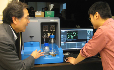 Professor Tuan Vo-Dinh discusses results from his NanoSight NS500