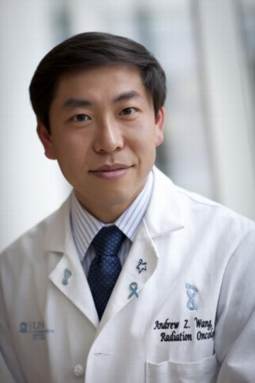 Andrew Z. Wang, MD, is the study's senior author.