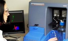 Nanoparticle Tracking Analysis software run on the NanoSight NS500