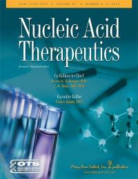 Nucleic Acid Therapeutics is published six times per year in print and online. For more information visit www.liebertpub.com/nat.