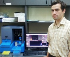 Vladimir Zyrin of the Faculty of Bioengineering & Bioinformatics used the NanoSight NS 500 in his diploma work on exosomes in human blood.