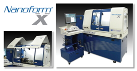 Precitech�s Nanoform� X Ultra Precision Machining System is designed to increase productivity and ease of use in diamond turning, milling and grinding of optical lenses, mold inserts, mirrors, and precision mechanical components.