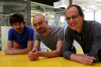 These ICFO researchers are: Adrian Bachtold, Joel Moser, Johannes G�ttinger.