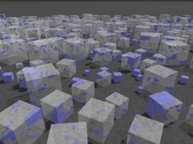 Palladium nanocubes interacting with hydrogen gas were directly observed through in situ luminescence to reveal that size can make a much bigger difference on phase transformations than scientists previously believed.