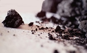 "Powder from inexpensive, high-grade charcoal can be used to make hydrogen gas, a development that could help pave the way toward the touted ""hydrogen economy.""