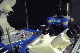 JPK's NanoWizard� system in use at the CBS in Montpelier
