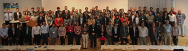 Group picture of conference attendees