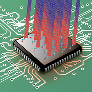 Cooling microprocessor chips through the combination of carbon nanotubes and organic molecules as bonding agents is a promising technique for maintaining the performance levels of densely packed, high-speed transistors in the future.