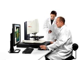 The Leica DCM8 makes swapping instruments unneccessary, offering both confocal and interferometry technology.