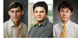 Photos of Jain and Ryu by L. Brian Stauffer; Godfrey courtesy of the computer science department