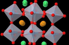 Drexel materials scientists predicted the existence of a polarized metal called strontium-calcium ruthenate.
