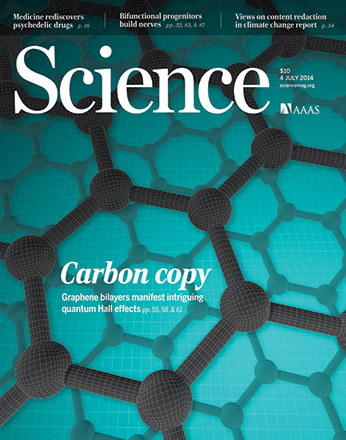 The July 4 cover of Science features new research into graphene, including a paper co-authored by Perimeter researchers Dmitry Abanin and Zlatko Papić.