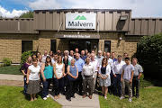 The Malvern MicroCal team pictured at the company�s Northampton MA facility