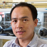 Biwu Ma, associate professor in the Department of Chemical and Biomedical Engineering in the FAMU-FSU College of Engineering.