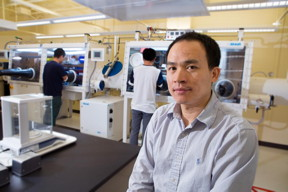 Biwu Ma is an associate professor of chemical and biomedical engineering.