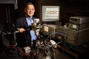 University of Illinois engineer Milton Feng and his team have introduced an upgrade to transistor lasers that could boost computer processor speeds.