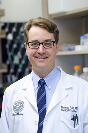 Thomas Flaig, MD, describes the use of gold nanoparticles, lasers, antibodies and bioluminescence to target bladder cancer.