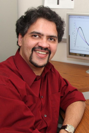 Yogesh Joglekar, Ph.D., Associate Professor of Physics, IUPUI is a theoretical physicist with interests in graphene, PT-waveguides, memristors, and mathematics.