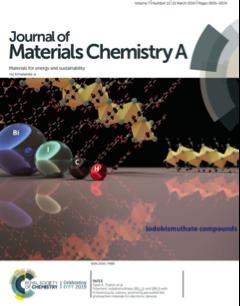 The research was showcased on the journal's cover page.