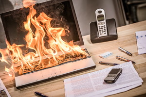 Purdue University scientists have come up with patented techniques that may cut down the fire risk from lithium-ion batteries, which are found in everyday electronic devices. (Stock photo)