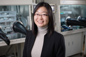 Chemical and biomolecular engineering professor Ying Diao and collaborators have repurposed a failed cancer drug into a new type of organic semiconductor for use in transistors and chemical sensors.