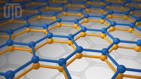 Graphene is a single layer of carbon atoms arranged in a flat honeycomb pattern, where each hexagon is formed by six carbon atoms at its vertices. University of Texas at Dallas physicists are studying the electrical properties that emerge when two layers of graphene are stacked.