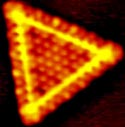 Nanocrystal - courtesy Physical Review Letters & Prof. Dr. scient Flemming Besenbacher, Interdisciplinary Nanoscience Center(iNANO), CAMP and Department of Physics and Astronomy. University of Aarhus, Denmark
