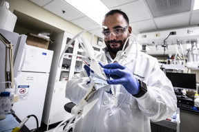 Your knees and your smartphone battery have some surprisingly similar needs, a University of Michigan professor has discovered, and that new insight has led to a 'structural battery' prototype that incorporates a cartilage-like material to make the batteries highly durable and easy to shape.